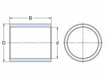 Pouzdro, slinutý bronz SKF PSM 061006 A51